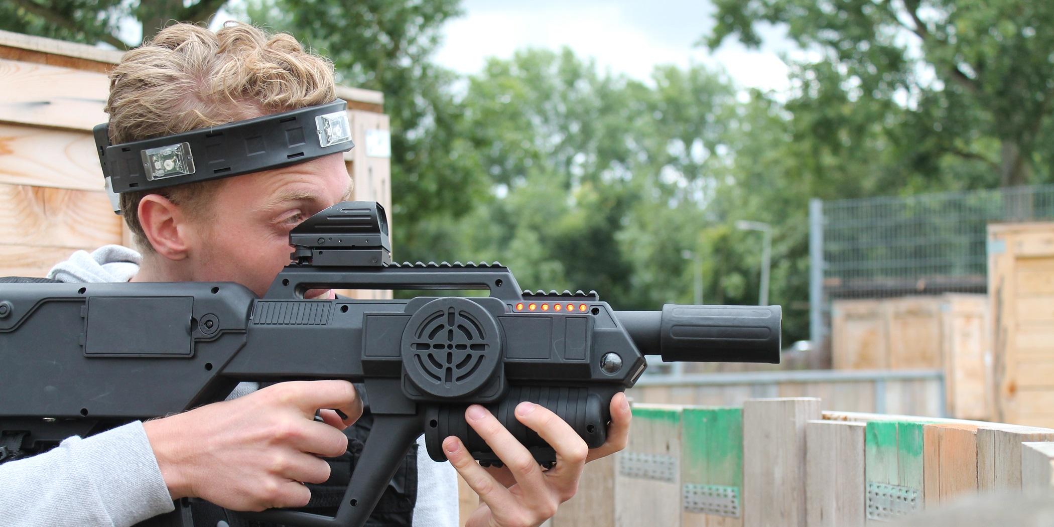 NK Laser Tag Amsterdam 2018