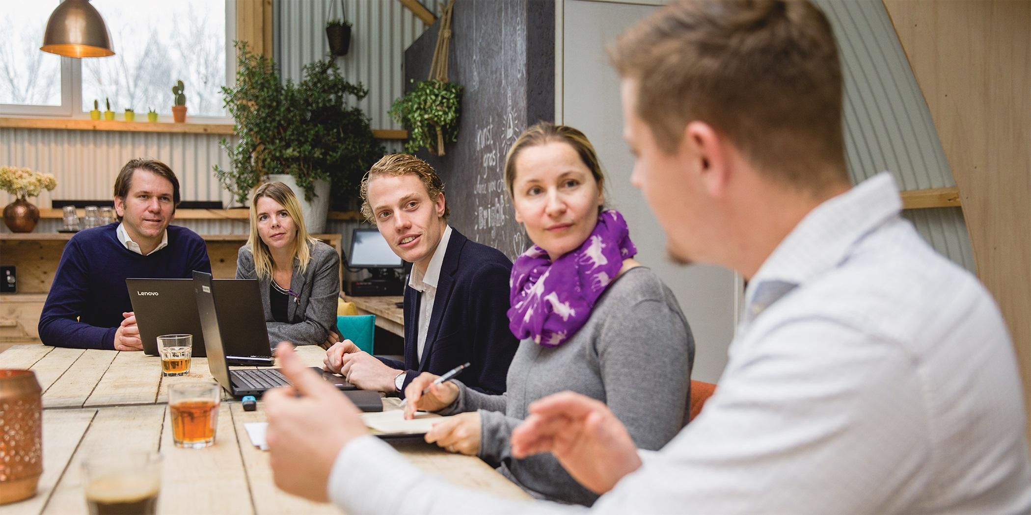 Vergaderen Amsterdam Bedrijfsuitje