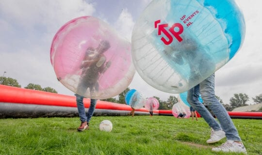 Bubble Football Team Building Amsterdam
